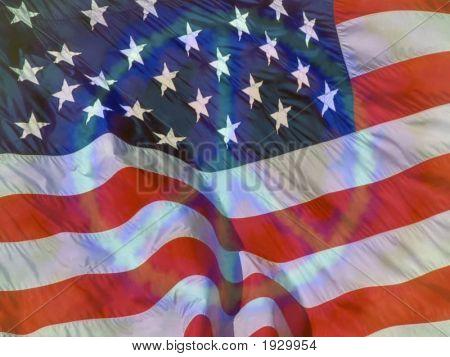 Peace Flag: American