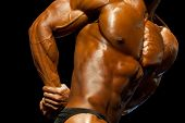 Bodybuilding Competition poster