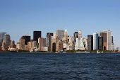 picture of new york skyline  - New York City Skyline