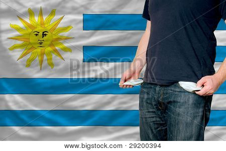 Recession Impact On Young Man And Society In Uruguay