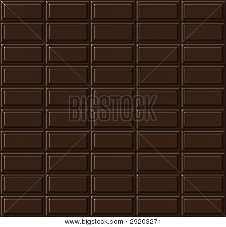 Chocolate seamless pattern.