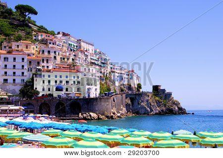 View of Amalfi