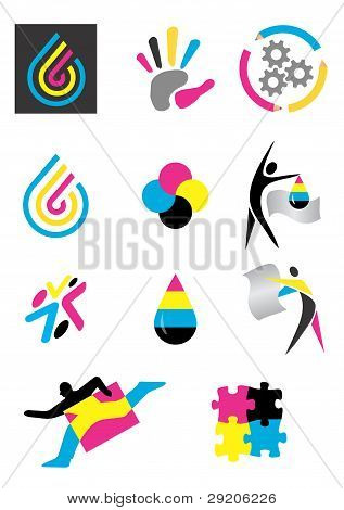 Icons print prepress