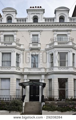 Victorian style building in London