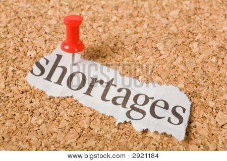 Headline Shortages