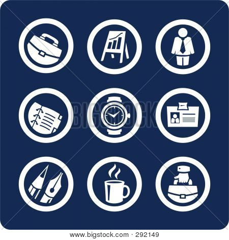 Business und Office-Icons (Set 5, Teil 1)