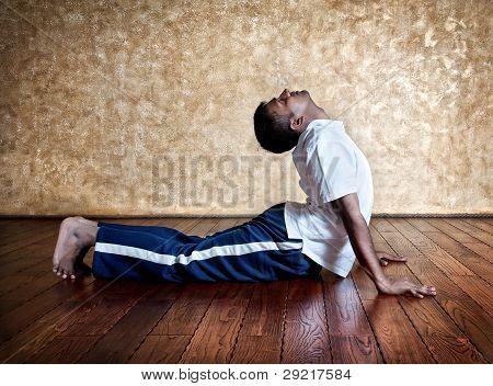 Yoga Bhudjangasana Cobra Pose