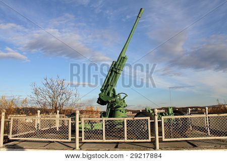 Green Anti-aircraft Gun