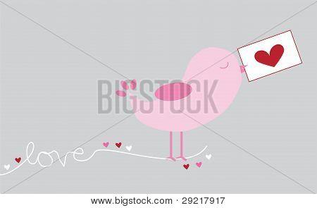 Love Letter Bird