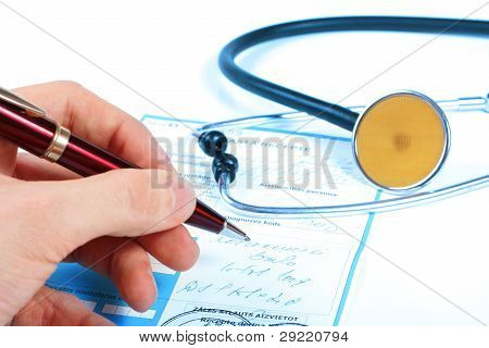Doctor Write Prescription