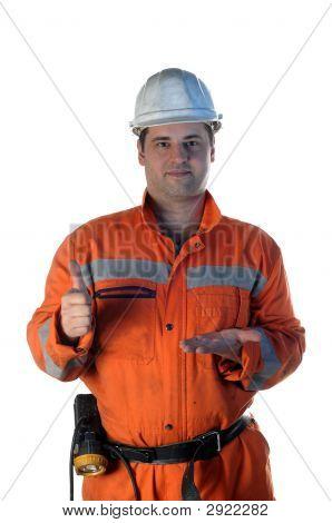 Mine Worker Offering