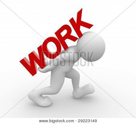 """Palabra """"trabajo"""""""