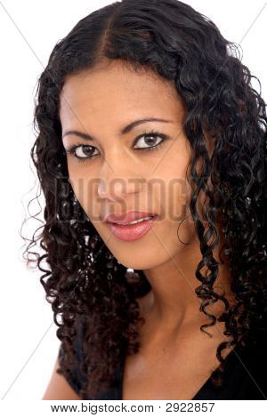 Black Woman Portrait