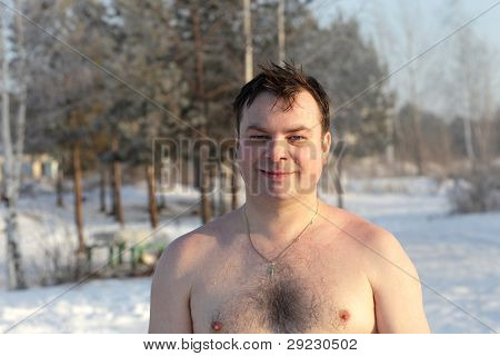 Winter Swimmer