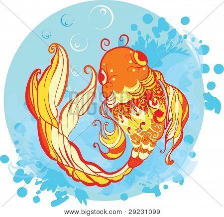 Ilustración de Goldfish