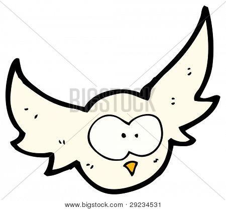 Imagen y foto Dibujos Animados De Buho Volando  Bigstock
