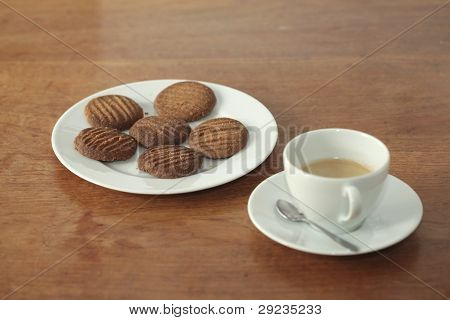 Homemade Cookies And Coffe