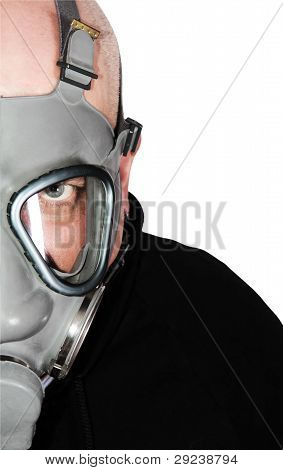 Chemical warfare gas mask