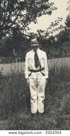 Vintage Family Photo 1932