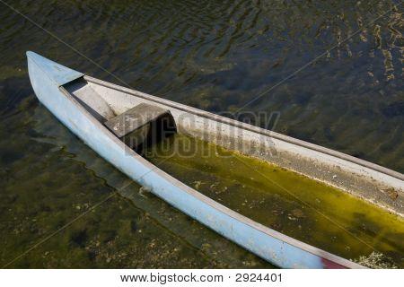 Flooded Canoe