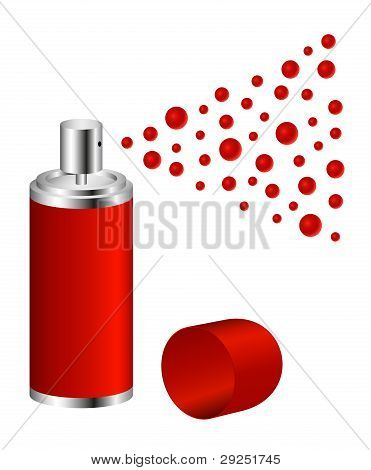 """Sprühen Sie in Design """"rot"""""""