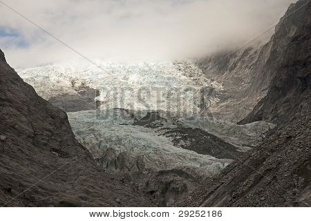 Frantz Josef Glacier Is One Of The Largest In The Southern Hemisphere