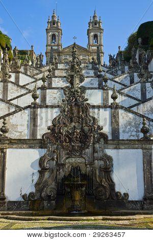 Portuguese sanctuary Bom Jesus do Monte