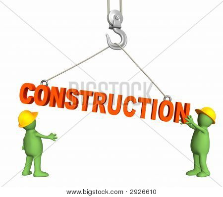 Builders, Omitting A Word Construction On A Hook