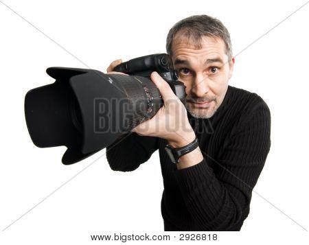 Humorous Photographer