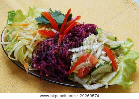 Fresh salad cabbage