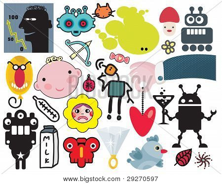 Mix of  vector images. vol.39