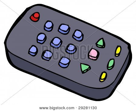 remote control cartoon