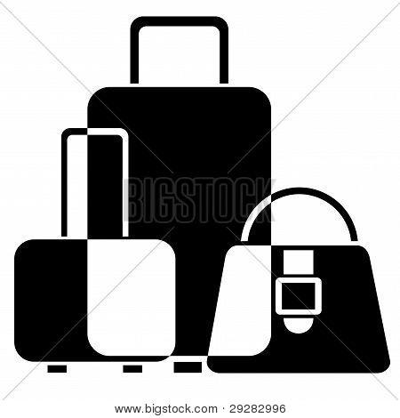 行李图标 库存矢量图和库存照片 | bigstock