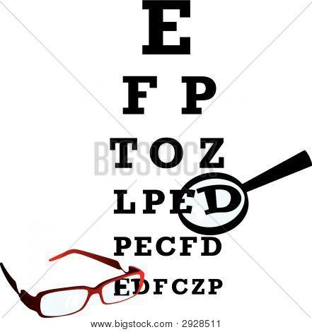 Alfabeto de oculista