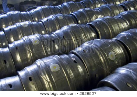 Casks Of Beer