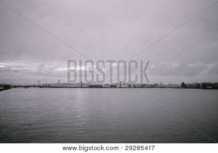 The Neva river, Saint Petersburg