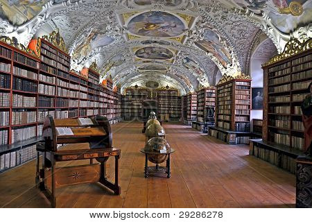 Biblioteca Strahov en Praga