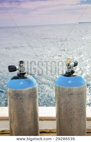 Scuba Diving Tanks
