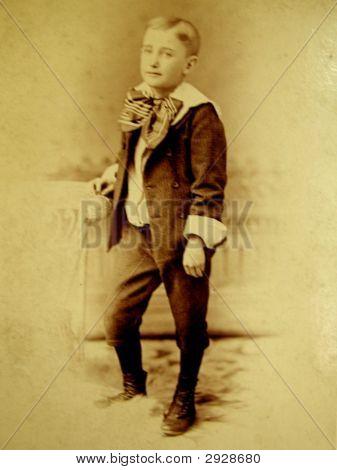Vintage 1889 Photo