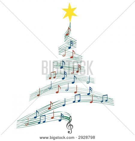Christmascarolmusictree