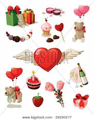 Valentine set
