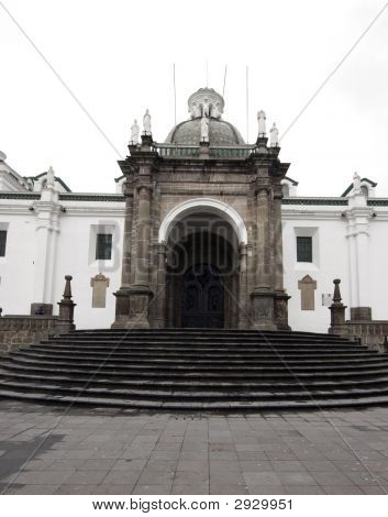 Cathedral Plaza Grande Quito Ecuador