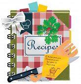 picture of xxl  - Vector cooking book XXL icon - JPG