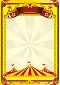 pic of circus tent  - Big Top circus leaflet - JPG