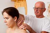 stock photo of therapist massage  - Relaxation - JPG