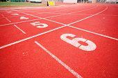 stock photo of 8-track  - Running track - JPG