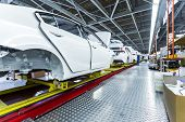 Car Assembly Line Plating And Equipment poster