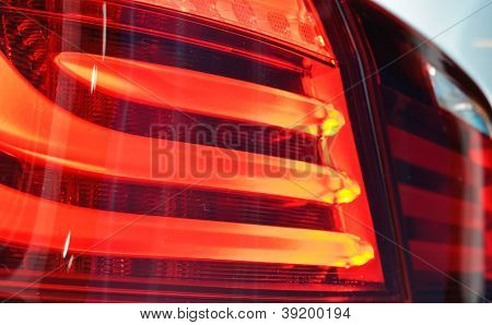 Rear Light Of Bmw