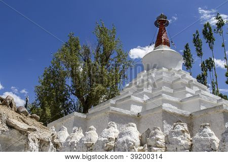 Go Mang Stupa near Leh, Ladakh, India