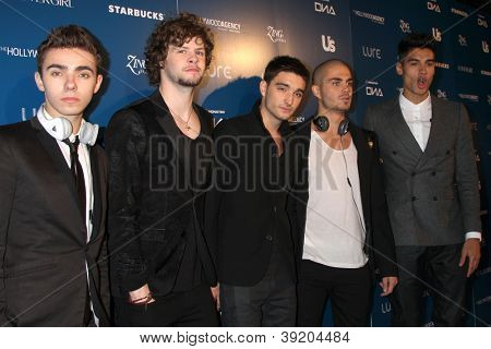 LOS ANGELES - NOV 18:  The Wanted arrives for the US Weekly AMA After Party at Lure on November 18, 2012 in Los Angeles, CA